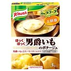 味の素 クノール カップスープ 男爵いものポタージュ (3袋入) ポタージュ ※軽減税率対象商品