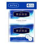 大王製紙 エリエール 贅沢保湿 ローションティシュー ポケット (14組(28枚)×4パック)