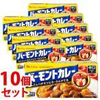 《セット販売》 ハウス食品 バーモントカレー 辛口 12皿分 (230g)×10個セット カレールウ ※軽減税率対象商品