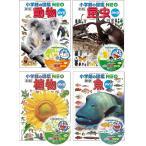 【おまけつき】小学館の図鑑NEO DVDつき 動物・昆虫・植物・魚 4冊セット