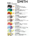 SMITHスミス  I/OX・I/O・I/OS レンズ  ゴーグル用スペアレンズ  予備レンズ 替レンズ