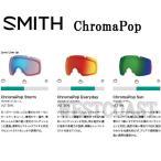 SMITHスミス I/O・I/OX・I/OS ゴーグル用スペアレンズ  ChromaPopレンズ 交換レンズ 送料無料