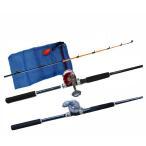 福袋 タコロッドリールセット 210cm・RIDESHIP200・タコ入れネット