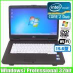 富士通 Fujitsu FMV-A8290 [core2Duo (2.53Ghz)/2G/160GB/DVDマルチ/無線LAN/15.6型ワイド/ Win7 Pro 32bit ]  :ランクB 中古 ノートパソコン
