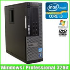 DELL OPTIPLEX 790 SFF [corei3 2120 3.3GHz/4G/250GB/DVDマルチ/Windows7]リカバリDVD付  中古 デスクトップ