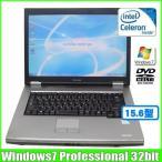 東芝 TOSHIBA dynabook Satellite L21  [celeron 900 (2.2Ghz)/2G/80GB/DVDマルチ/15.4型/Win7 32bit/]  :ランクB 中古 ノートパソコン