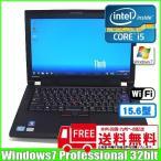 lenovo ThinkPad L420 7827-R23 [core i5 2520M (2.5Ghz)/4G/320GB/無線LAN/14型ワイド/Win7 Pro32Bit ]  :ランクA 中古 ノートパソコン