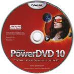 DVD���֥롼�쥤����������ե�  CyberLink PowerDVD10/P2GO BDXL�б�/3D�б� OEM��