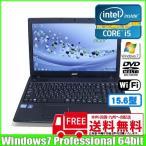 Acer TravelMate TMP453 [core i5 3210M (2.5Ghz)/4GB/320GB/DVDマルチ/無線/テンキー/Win7Pro ] :ランクA 中古ノートパソコン