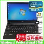 富士通 Fujitsu  ウルトラブック U772/F [corei5 3427U (1.8Ghz)/4G/HDD320GB+24GB(SSD)/無線/カメラ/14型/ Win7 Pro 64bit ]  :ランクB