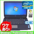 NEC VersaPro VK24L/X-B [core i3  370M (2.4Ghz)/3G/160GB/マルチ/15.6型ワイド/Windows7 Pro ]  :ランクB 訳あり 中古 ノートパソコン