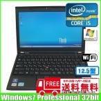 lenovo ThinkPad X220 4290-LV9[core i5 2520M (2.5Ghz)/4G/320GB/無線LAN/12.5型ワイド/Win7 Pro 32bit ]  :ランクA 中古 ノートパソコン