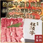 松阪牛焼肉用モモ・ロース食べ比べ 各250g送料無料