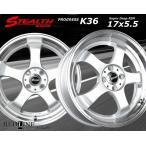 New STEALTH Racing K36 軽四用新品ホイール+タイヤ4本Set Hankook 165/40R17タイヤ付