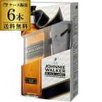 ショッピングウイスキー ジョニーウォーカー ブラックラベル 12年 グラス付 正規 40度 700ml×6本 ジョニ黒 黒ラベル ウイスキー ウィスキー 長S