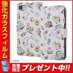 iPhone 7 ディズニー キャラクター / 手帳型ケース マグネット / ミニーマウス17