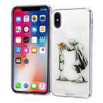 iphone x ケース ワンピース TPUケース + 背面パネル / シャンクス & ルフィ アイフォン one piece グッズ