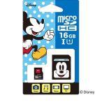 サイバーガジェット microSDカード アダプターセット 16GB ディズニー ミッキー Nintendo Switch