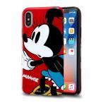 iPhone X ケース ディズニー キャラクター TPUソフトケース Colorap / ミニー iphonex アイフォンx カバー disney