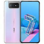 ASUS スマートフォン ZenFone7 パステルホワイト ZS670KS-WH128S8 正規品