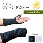 【男性用】 UVカット ハンドカバー UV対策 UV 手袋 グローブ メンズ 手 手首 手の甲 紫外線対策 グッズ 蒸れない UPF50+ 釣り テニス あすつく White Beauty