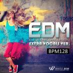 BGM CD フィットネス 著作権フリー 店内 音楽 エレクトロニックダンスミュージック Extra Vocals Ver. -BPM128-(4052)