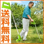 電動草刈り機 充電式草刈り機 二刀流 ナイロン刃・スチール刃付き コードレス草刈機 刈払機 芝刈り機 74055-1