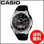 カシオ 腕時計 電波ソーラー wave ceptor ウェーブセプター メンズ ソーラー電波腕腕時計 CASIO マルチバンド6 スポーティデザイン