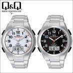 シチズン 腕時計 ソーラー電波時計 電波ソーラー メンズ腕時計 ソーラーメイト MD02シリーズ Q&Q CITIZEN