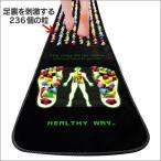 踏み台 玄関踏み台 足裏 足ツボ 刺激 マット 健康の道 ヘルシーウェイ 健康器具 (TM) キッチン