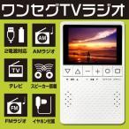 ワンセグテレビ ポータブル ポケットラジオ コンパクト FM USB 乾電池 電池式 持ち運べる  KH-TVR320 3.2インチ 新聞掲載