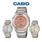 腕時計 電波ソーラー レディース ブランド チタン 電波ソーラー腕時計 うでどけい ウェーブセプター カシオ腕時計 WAVECEPTER