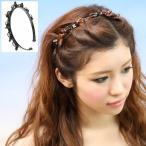 髮箍 - カチューシャ クリップ付き ツイストヘアー ツイスター ヤフーランキング上位入賞 st-249