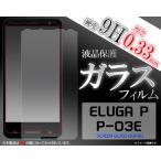 【アウトレット】ELUGA P(エルーガP) P-03E用液晶保護ガラスフィルム