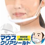 マウスクリアシールド 10枚セット 大人マスク 子供マスク 熱中症予防 涼しい