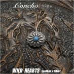 Yahoo!ワイルド ハーツミニ コンチョ シルバー925 ターコイズ インディアンスタイル Concho Silver925 Turquoise