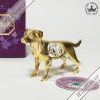 スワロフスキー オブジェ オーナメント 干支 戌 犬 STAND ロイヤルアーデン SWAROVSKI クリスタル ゴールド bird/薔薇雑貨,かわいい雑貨のワイルドフラワー