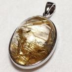ルチルクォーツペンダントトップ rutiru-quatz 水晶 パワーストーン 天然石 数珠 イリデセントストーン