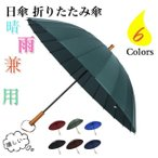 傘 長傘 24本骨 晴雨兼用 uvカット 遮光 男女兼用 風に強い 丈夫 長傘 ワンタッチ