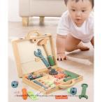 大工さんセット 木のおもちゃ 工具セット 子供おもちゃ 積み木 知育玩具 おままごと 女の子 修理キット モンテッソーリ 誕生日 組立 プレゼント 学習玩具 男の子