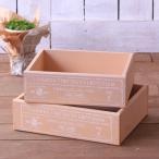 カントリーボックス BOX 大小セット 木箱 ウッド 小物入れ お道具箱 収納 お片付け インテリア ウッド 木製品 雑貨 ナチュラル 日本製