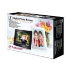 Transcend デジタルフォトフレーム PF830 8インチ 内蔵メモリー4GB 解像度800x600 ホワイト TS4GPF830W