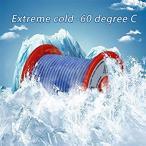 BNTECHGO 18ゲージ シリコーンワイヤー 超柔軟性 フレキシブルシリコーンケーブル線 ブルー 長さ延べ15.3メートル 断熱範囲温度