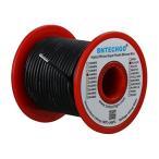 BNTECHGO 18ゲージ シリコーンワイヤー 超柔軟性 フレキシブルシリコーンケーブル線 ブラック 長さ延べ15.3メートル 断熱範囲温