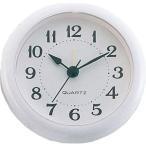 (まとめ)アーテック 丸型時計 ホワイト アラーム付 〔×15セット〕