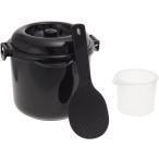 ショッピング炊飯器 1439【安心の日本製】カクセー 電子レンジ専用炊飯器 備長炭入り ちびくろちゃん 2合炊き