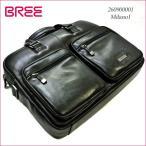 BREE[ブリー] 牛革 高級レザービジネスバッグ Milano1 ブラック(BREE-260900001)
