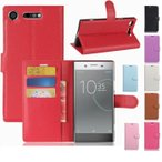 Sony Xperia XZ1 ケース ドコモ SO-01K カバー au SOV36 3点セット 保護フィルム タッチペン おまけ 手帳型ケース メール便 送料無料