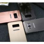 ショッピングgalaxy s8 ケース Galaxy S8 ケース アルミ 鏡 バンパー カバー 3点セット ガラスフィルム タッチペン SC-02J SCV36