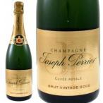 ジョセフ ペリエ キュヴェ ロワイヤル ブリュット ヴィンテージ 2002年 750ml (シャンパン スパークリングワイン フランス 辛口)